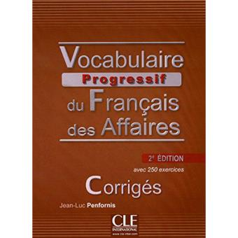 Vocabulaire progressif 2ed corriges