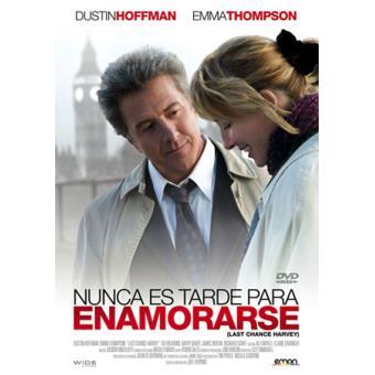 Nunca es tarde para enamorarse - DVD