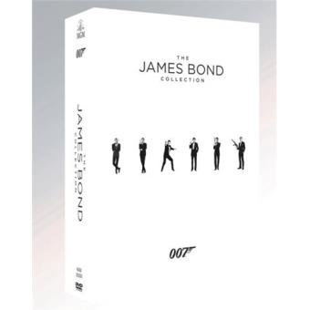 Pack The James Bond Collection 23 + 1 - DVD