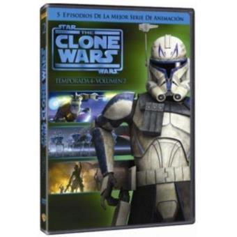 The Clone Wars - Temporada 4 - Volumen 2 - DVD