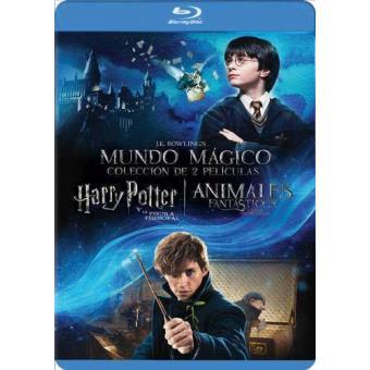 Pack J. K. Rowling: Harry Potter y la piedra filosofal + Animales fantásticos y dónde encontrarlos - Blu-Ray
