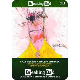 Breaking Bad - Temporada 4 - Steelbook Blu-Ray -  Ed Limitada