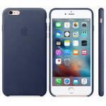 Apple iPhone 6s Plus Funda de piel midnight blue