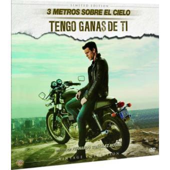 Pack 3 metros sobre el cielo + Tengo ganas de ti - Ed Limitada Vinilo - DVD