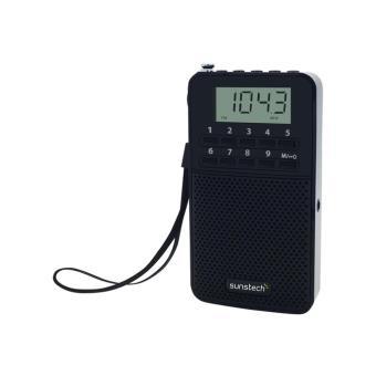 Radio Portátil Sunstech RPDS81 Negro