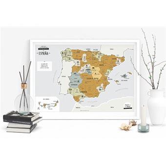 Mapa Rascable De Espana 5 En Libros Fnac