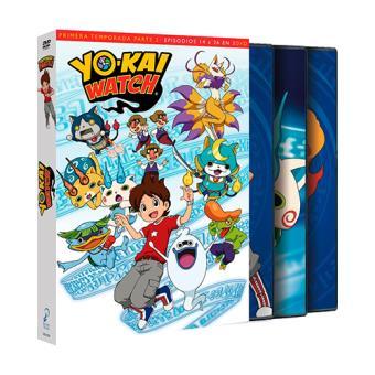 Yokai Watch - Temporada 1 parte 2 - DVD