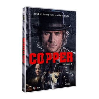 Copper - Temporada 2 - DVD
