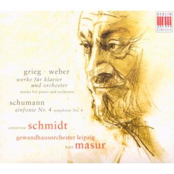 Grieg, Weber - Werke fü Klavier und Orchester / Schumann - Sinfonie Nr. 4