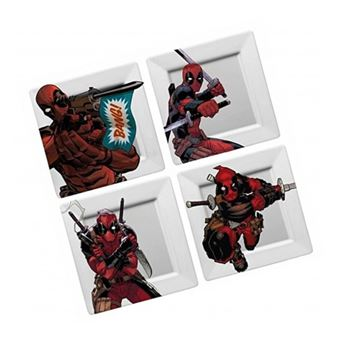 Pack de platos Marvel - Deadpool