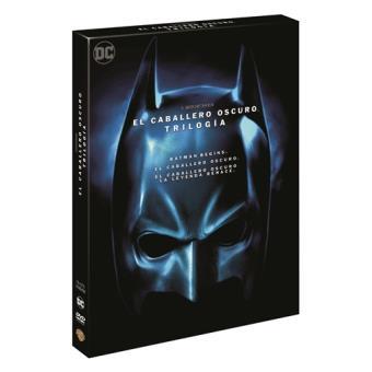 Pack El Caballero Oscuro. Trilogía - DVD