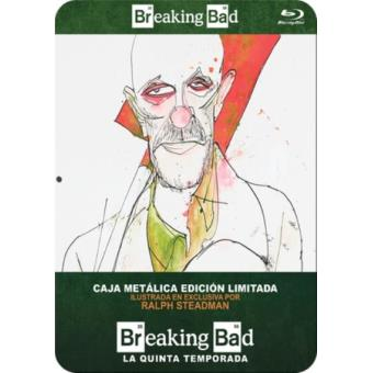 Breaking Bad - Temporada 5 - Steelbook Blu-Ray