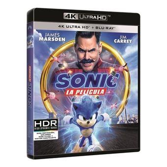 Sonic. La película - UHD + Blu-ray