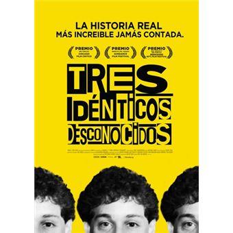 Tres idénticos desconocidos - DVD
