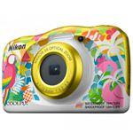 Cámara compacta Nikon Coolpix W150 + Mochila Amarillo Kit