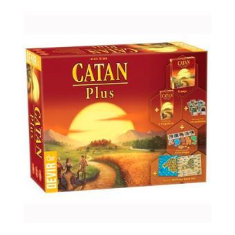 Colonos de Catan Plus