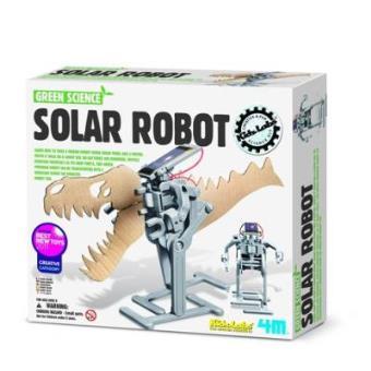 Crea y juega Robot solar