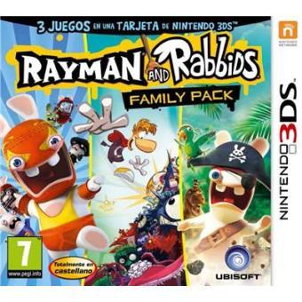 Rayman And Rabbids Family Pack 3ds Para Los Mejores Videojuegos Fnac