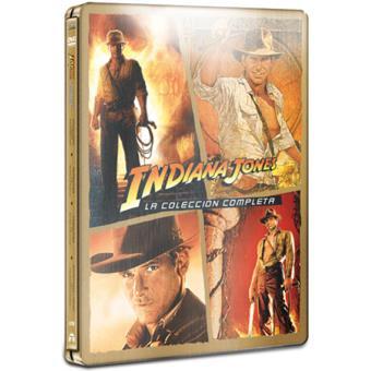 Pack Indiana Jones: La colección completa (Estuche metálico) - DVD