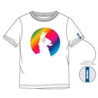 Camiseta Fortnite Llama Loot Blanco Talla 12