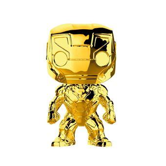 Figura Funko Marvel - IronMan dorado