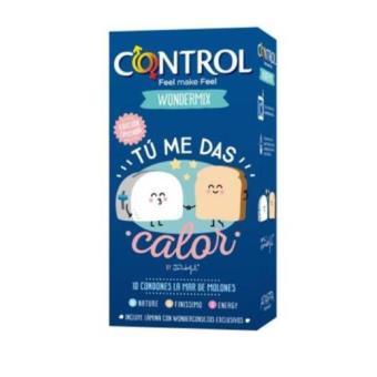 bd5f94b85 Preservativos Control Mr Wonderful Tú me das calor (10uds) - -5% en ...