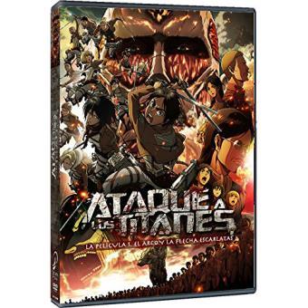 Ataque a los Titanes. La Película: El Arco y la flecha (Parte 1) - DVD