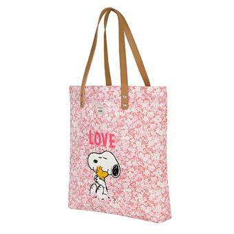 Bolso Shopper Cath Kidston Snoopy Rosa