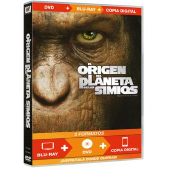 El origen del planeta de los simios (DVD + Blu-Ray) + Copia digital - DVD