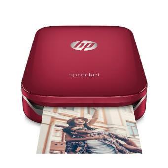 Impresora fotográfica HP Sprocket rojo