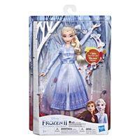 Muñeca Frozen 2: Elsa cantarina