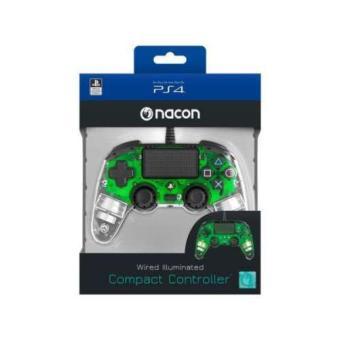 Mando Bigben Nacon Compact PS4/PC Luz verde