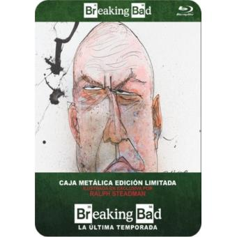 Breaking Bad  Temporada 5 Parte 2 - Steelbook Blu-Ray