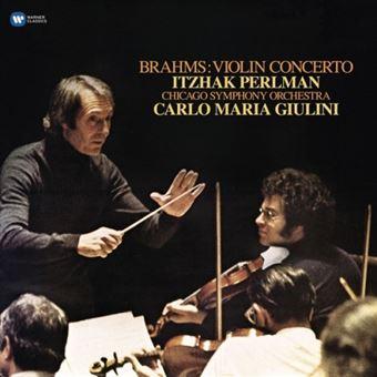 Brahms: Violin Concerto - Vinilo