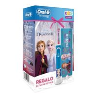 Cepillo eléctrico Oral-B Frozen Kids Power + Funda de Viaje Kit