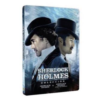 Pack Sherlock Holmes 1 y 2 - Steelbook DVD