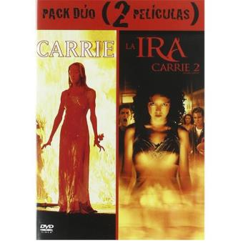 Pack Carrie + Carrie 2: La ira - DVD