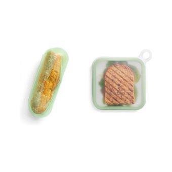 Fundas de silicona reutilizables Lekué para bocadillo/sandwich