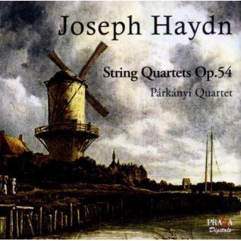 Tres cuartetos de cuerda Op. 54