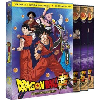 Box Dragon Ball Super 7 - Ep 77 a 90 - DVD