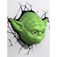 Lámpara decorativa pared 3D Star Wars Yoda
