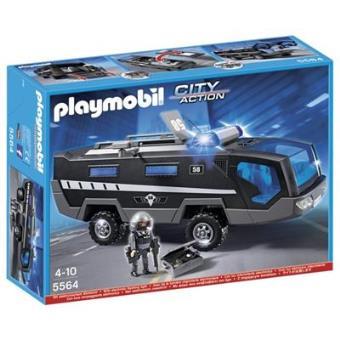Playmobil City Action Camión Unidad Especial de Policía