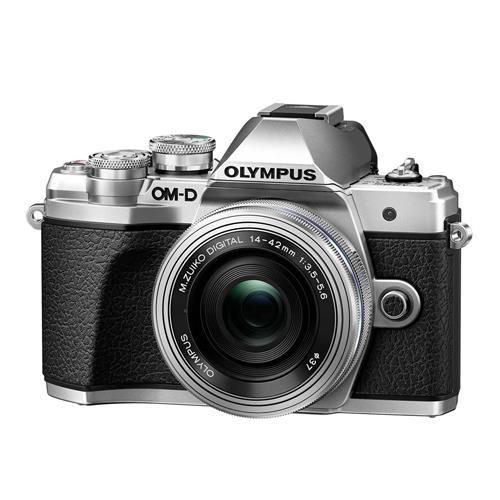 Cámara EVIL Olympus OM-D E-M10 Mark III + 14-42 mm EZ Plata