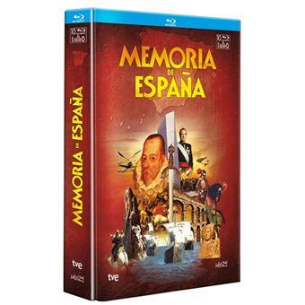 Pack Memoria de España - Blu-Ray + Libro