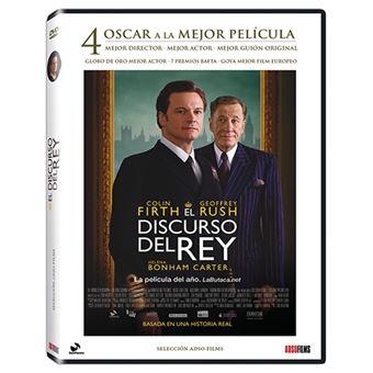 El discurso del Rey - DVD