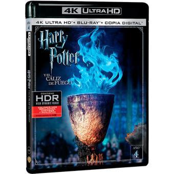 Harry Potter y el cáliz de fuego - UHD + Blu-Ray