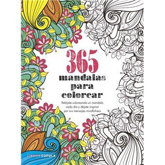 365 mandalas para colorear    5% en libros | FNAC
