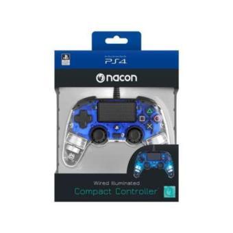 Mando Bigben Nacon Compact PS4/PC Luz azul