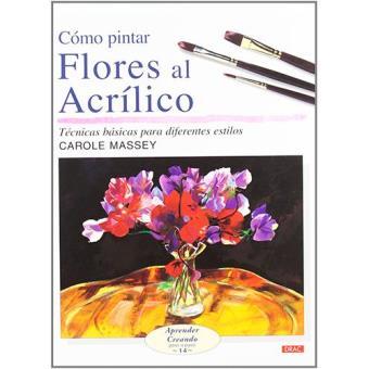 Como pintar flores al acrílico