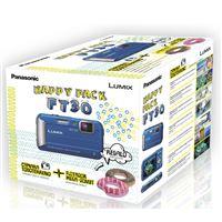 Cámara Compacta Panasonic FT30 Azul + Flotador Kit